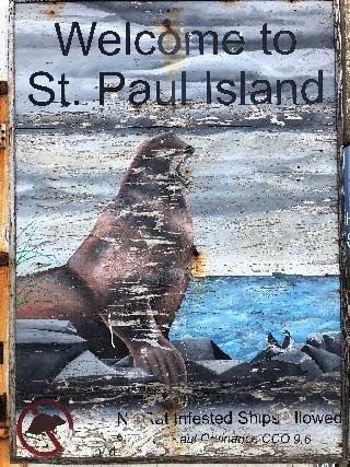 St. Paul Island Sign5